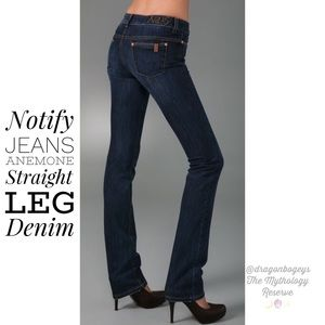 Notify Jeans Anemone Straight Leg Denim